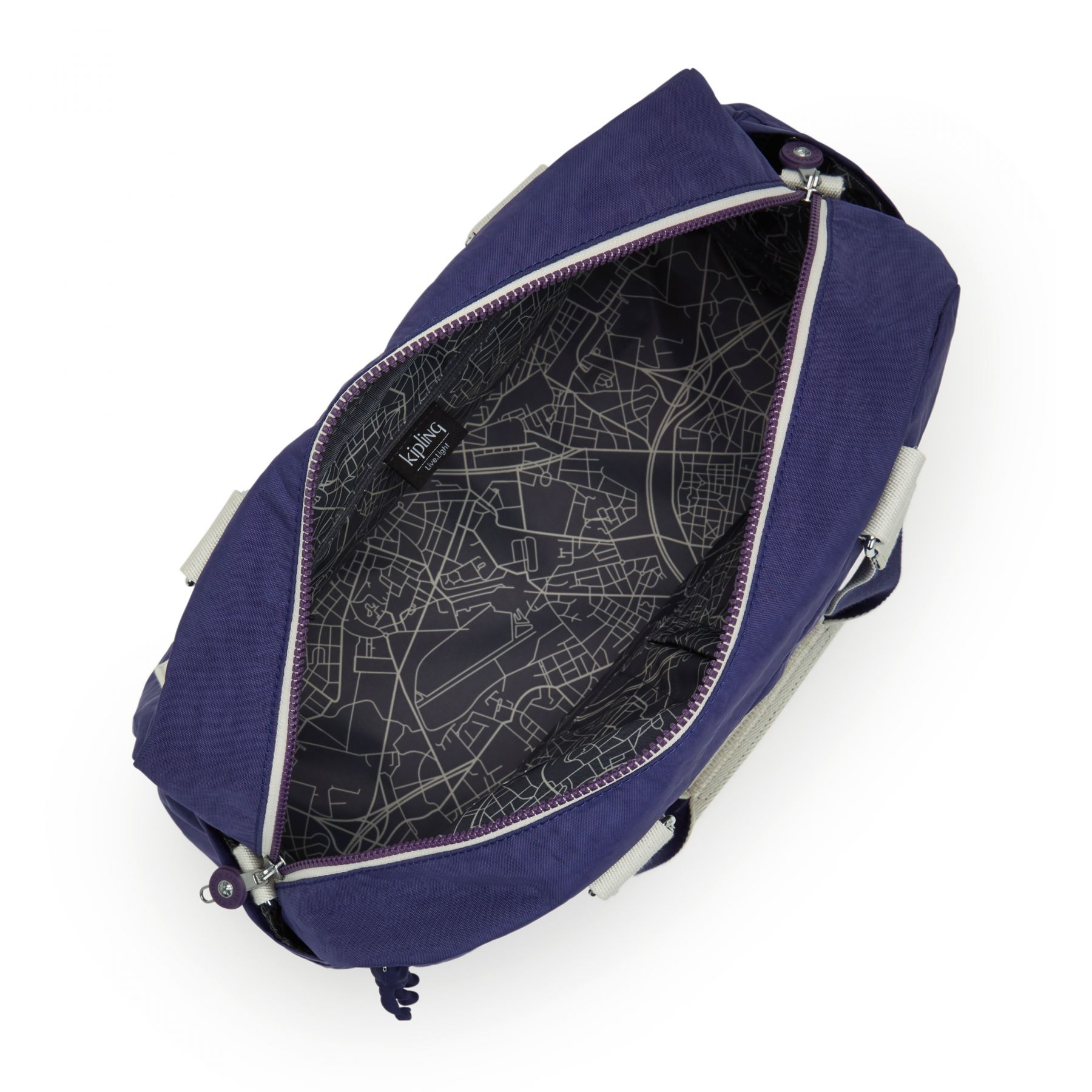 DENY LUGGAGE by Kipling - Inside view