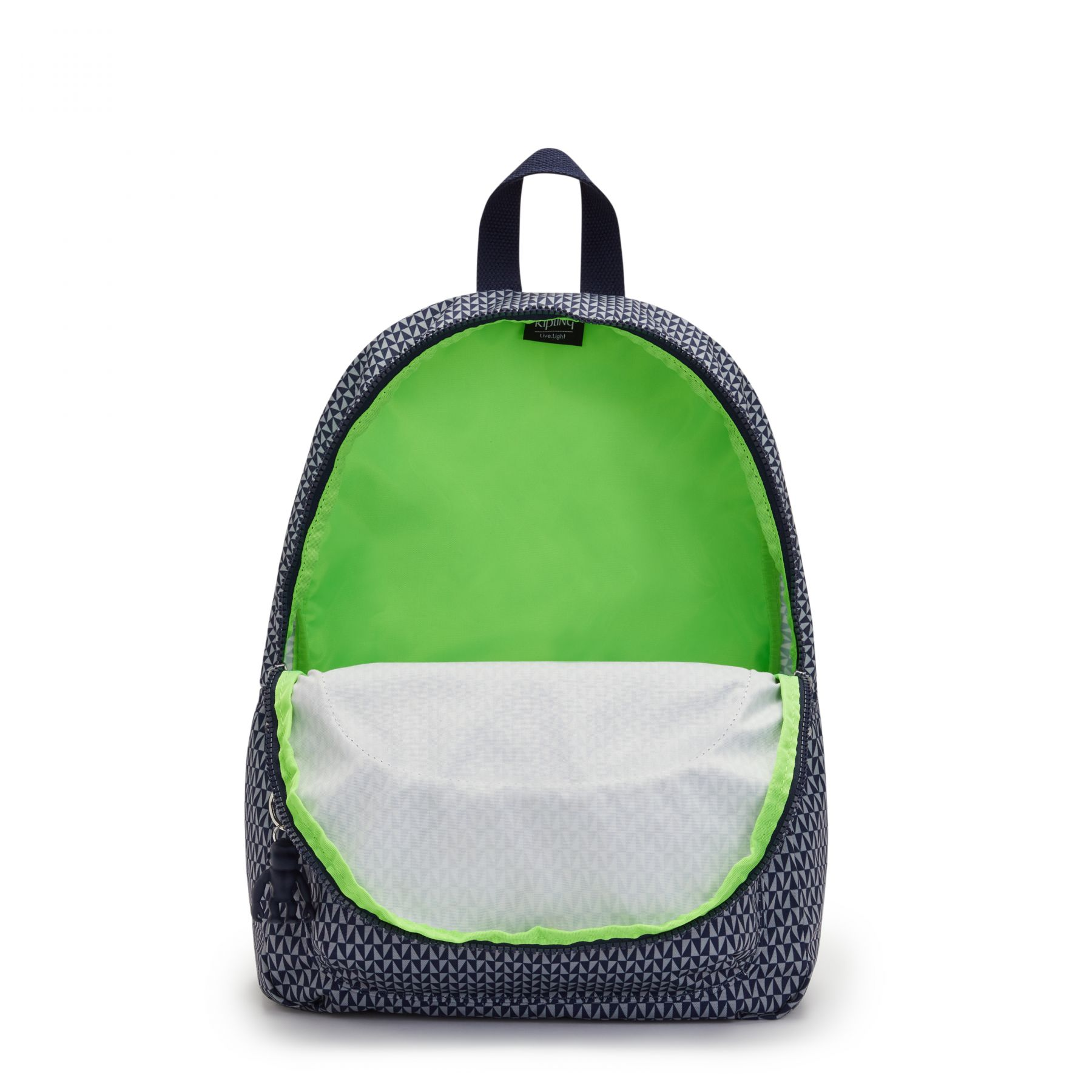 CURTIS M SCHOOL BAGS by Kipling - Inside view
