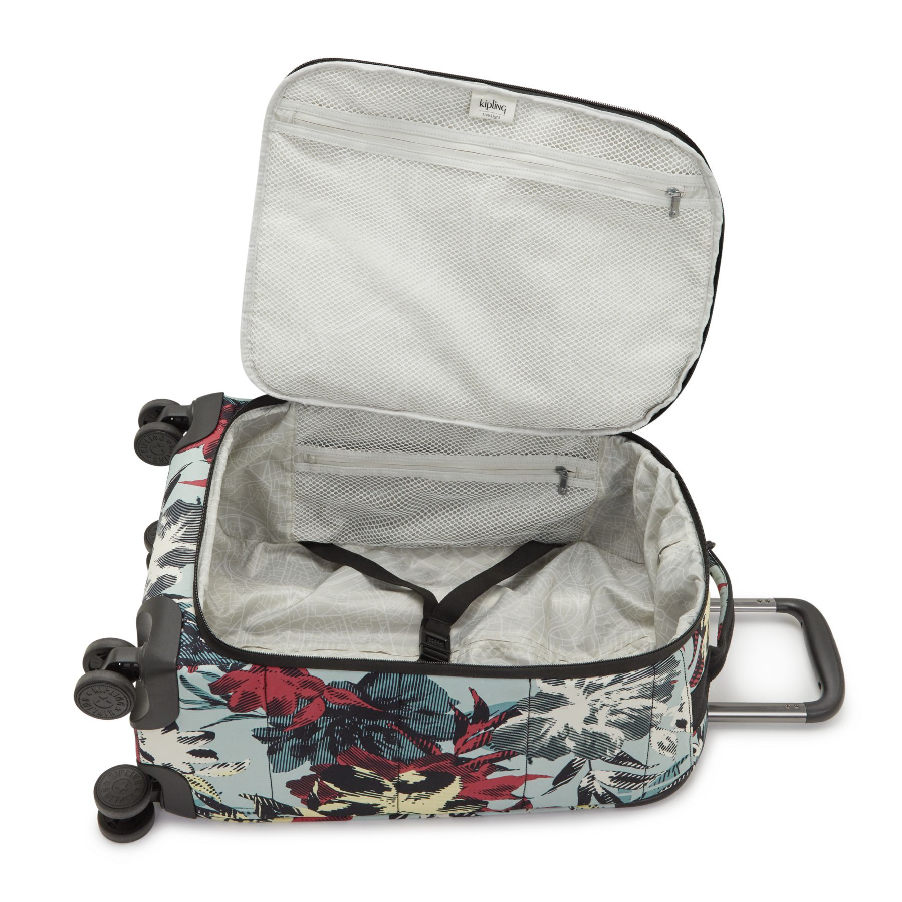 CITY SPINNER S LUGGAGE by Kipling - Inside view