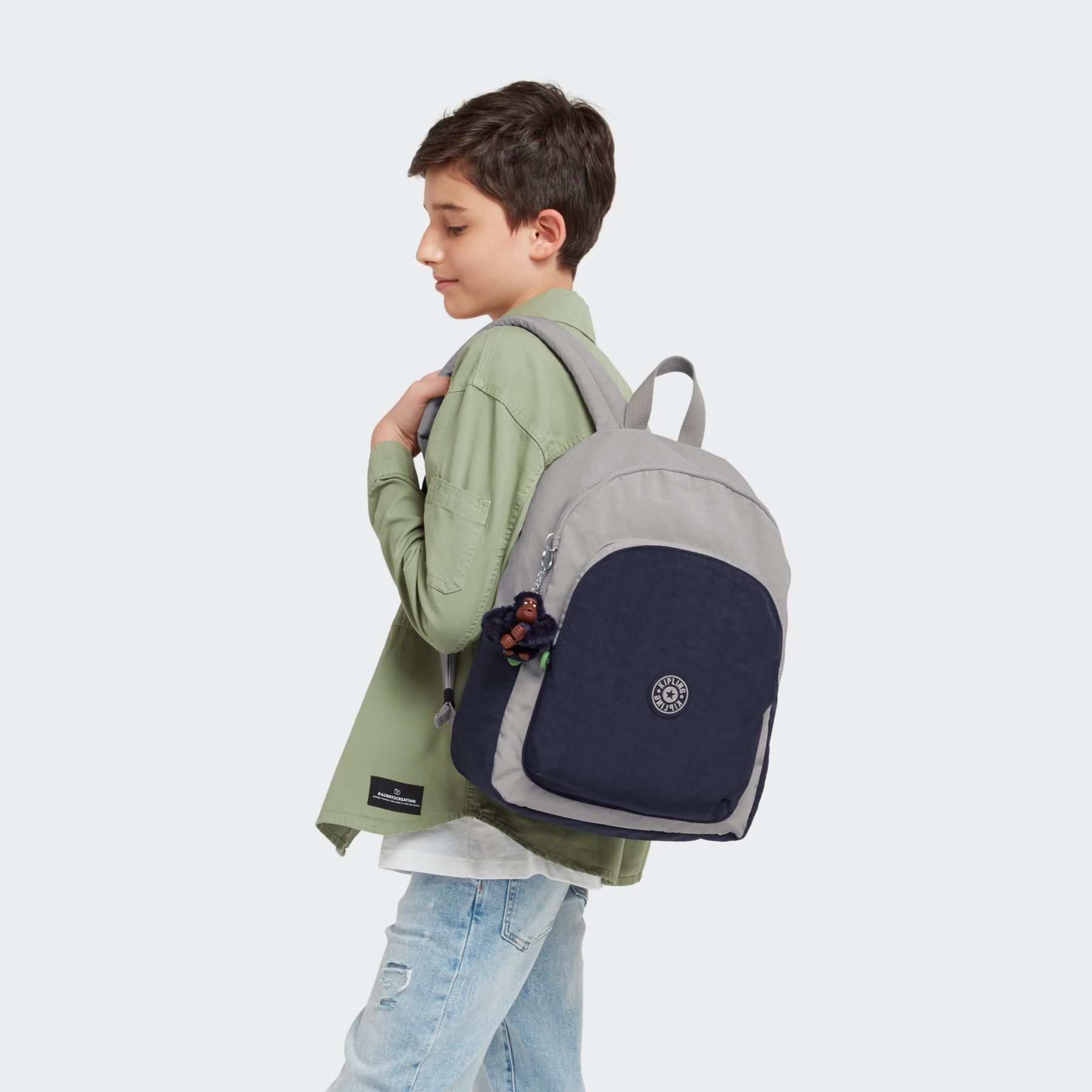 SEOUL M LITE SCHOOL BAGS by Kipling - view 9