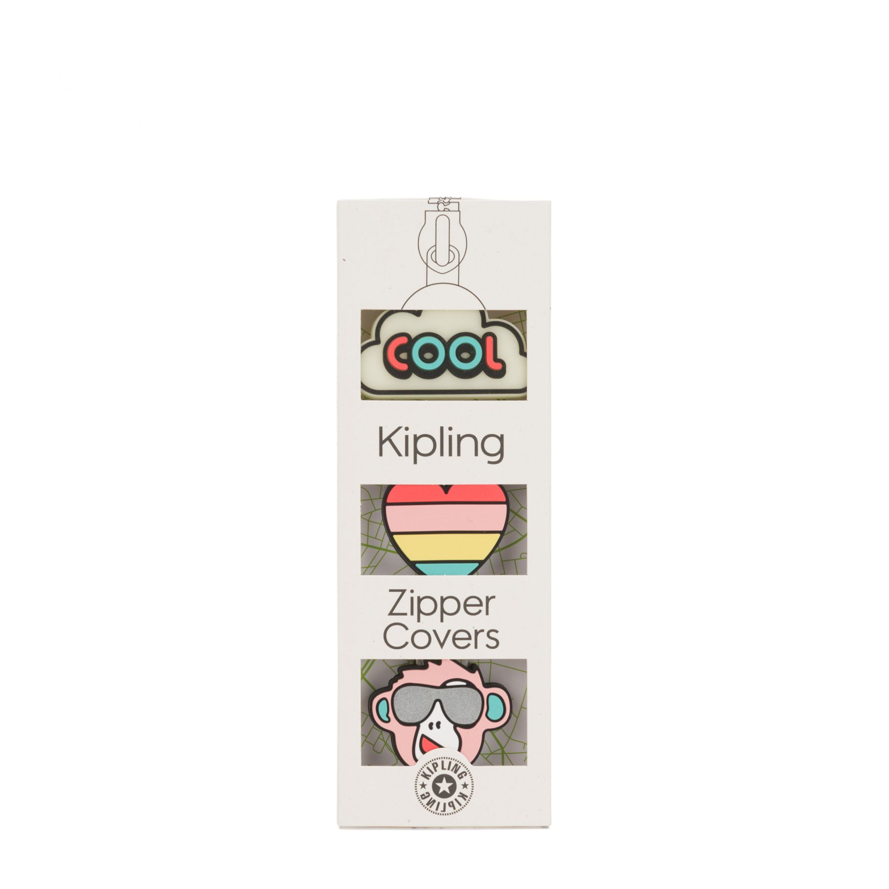 BTS PULLERS MIX Latest Accessories by Kipling - Front view