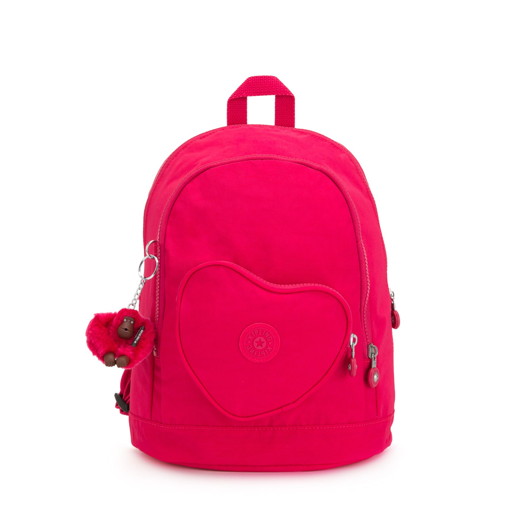 HEART BACKPACK by Kipling - Front view