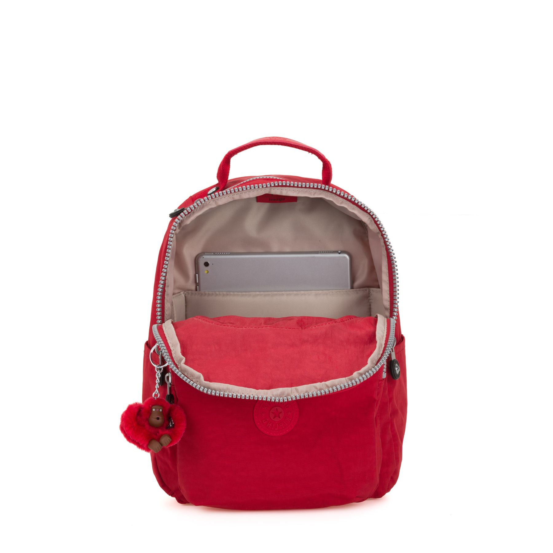 SEOUL GO S SCHOOL BAGS by Kipling - Inside view