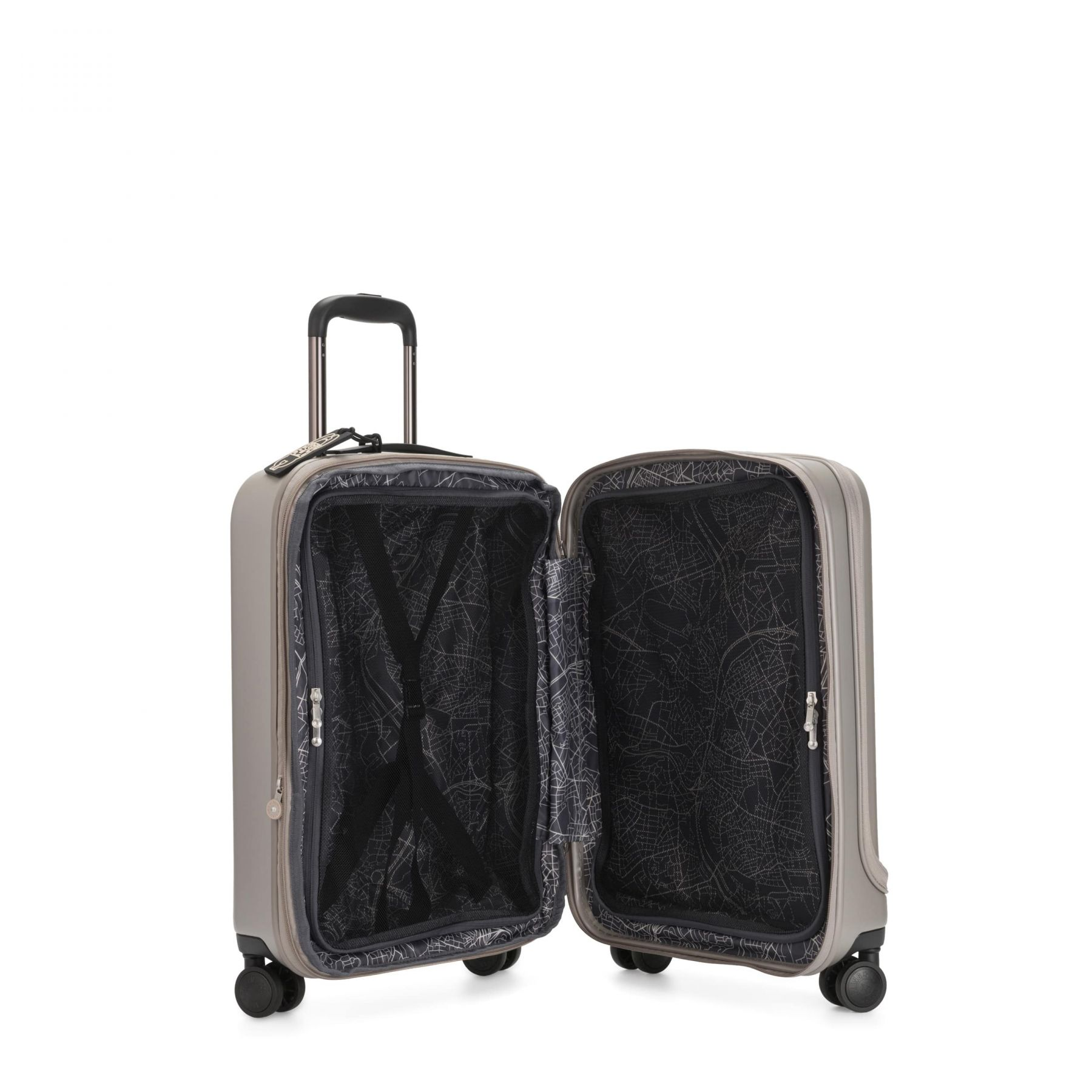 CURIOSITY PKT Latest Luggage by Kipling - Inside view