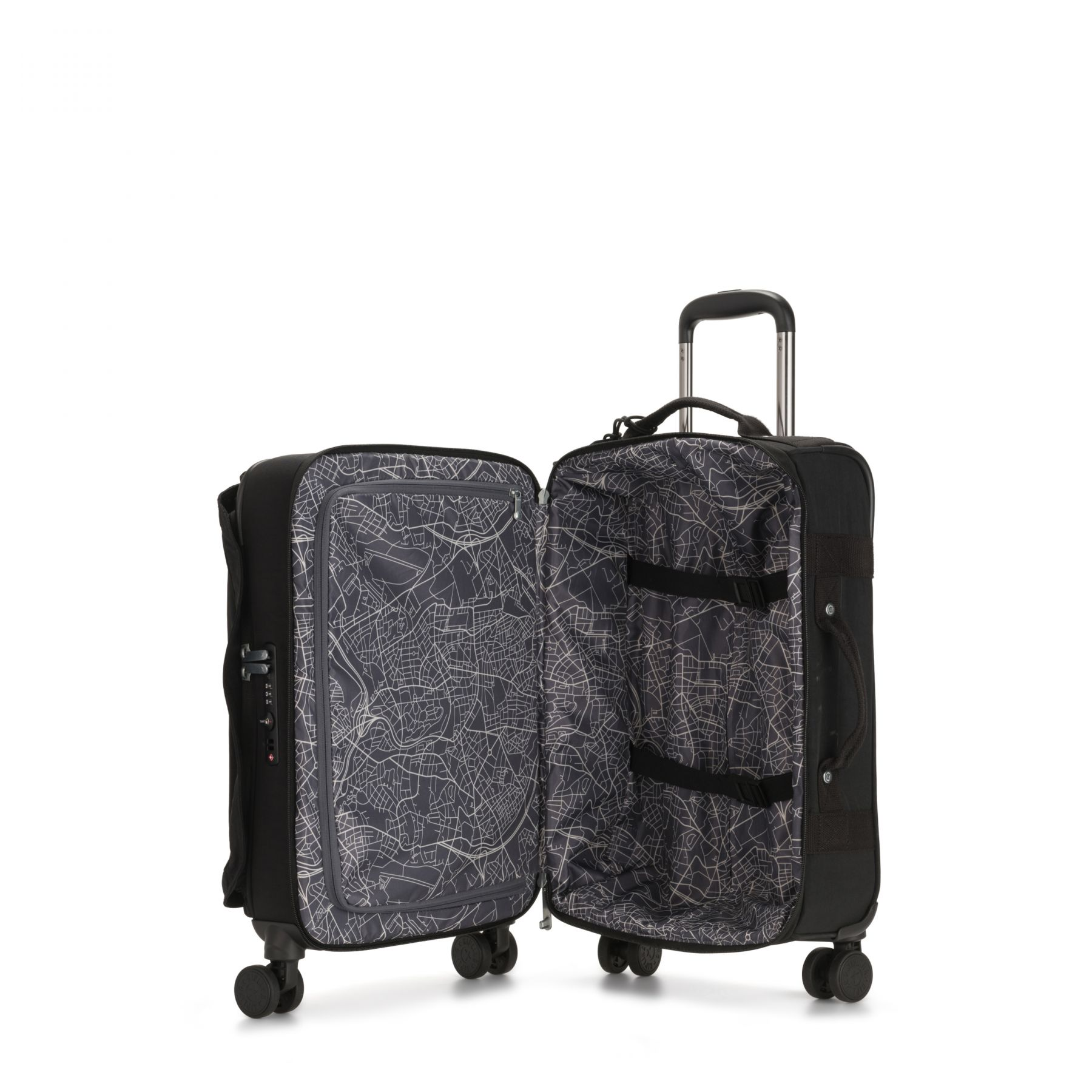SPONTANEOUS S Latest Luggage by Kipling - Inside view