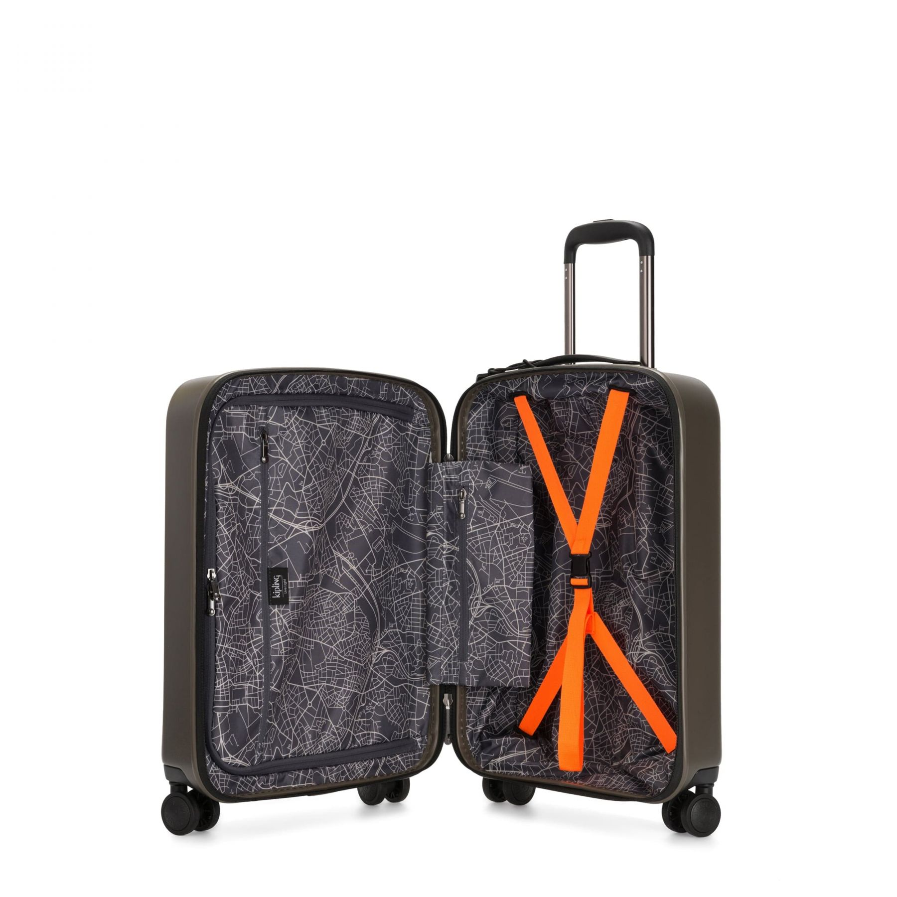 CURIOSITY S Latest Luggage by Kipling - Inside view