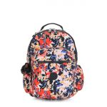 SEOUL GO Splashy Posies BACKPACKS by Kipling Front