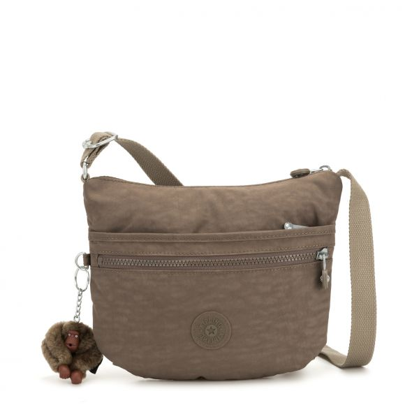 ARTO S ESSENTIAL True Beige CROSSBODY by Kipling Front