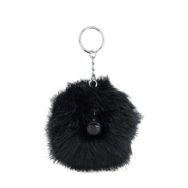 POMPOM MONKEY E True Navy MONKEYS & KEYHANGERS by Kipling Front