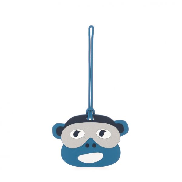 MONKEY FUN TAG Blue Monkey Face PRODUCT EXTENSIONS by Kipling Front