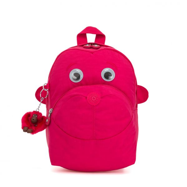 FASTER ESSENTIAL True Pink BACKPACKS by Kipling Front