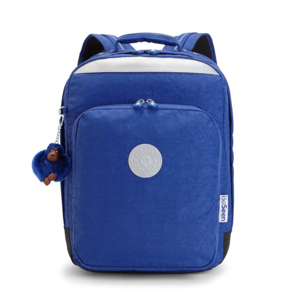 COLLEGE UP Cobalt Flash BACKPACKS by Kipling Front