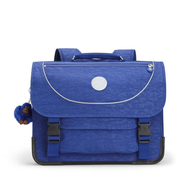 PREPPY Cobalt Flash BACKPACKS by Kipling Front