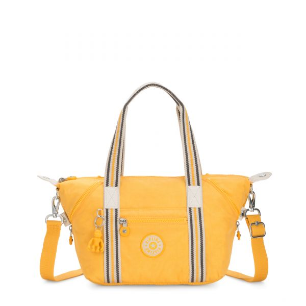 ART MINI Vivid Yellow SHOULDERBAGS by Kipling Front