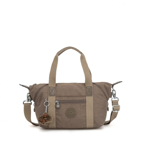 ART Mini ESSENTIAL True Beige HANDBAGS by Kipling Front
