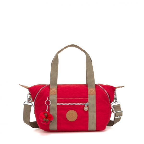 ART MINI True Red C HANDBAGS by Kipling Front