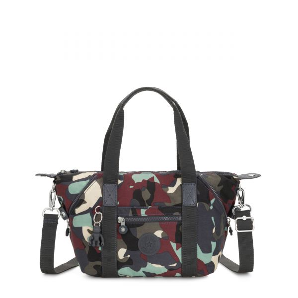 ART MINI Camo Large SHOULDERBAGS by Kipling Front