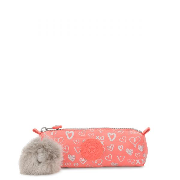 FREEDOM Hearty Pink Met POUCHES/CASES by Kipling Front