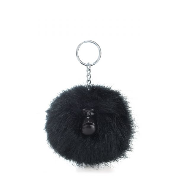 POMPOM MONKEY True Navy MONKEYS & KEYHANGERS by Kipling Front