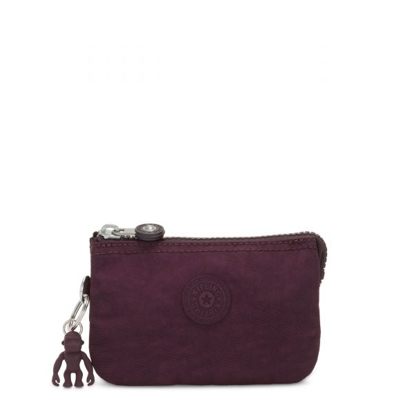 CREATIVITY S Dark Plum POUCHES/CASES by Kipling Front
