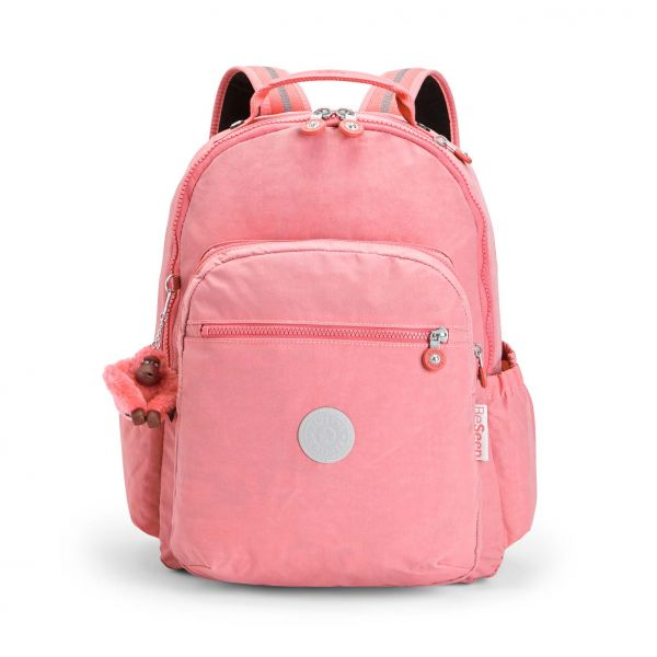 SEOUL GO Pink Flash BACKPACKS by Kipling Front