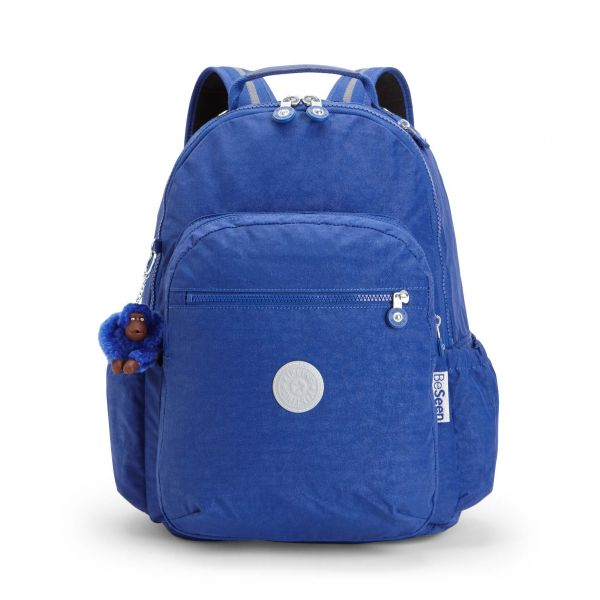 SEOUL GO Cobalt Flash BACKPACKS by Kipling Front