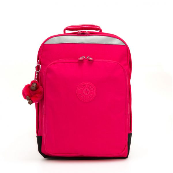 COLLEGE UP ESSENTIAL True Pink BACKPACKS by Kipling Front