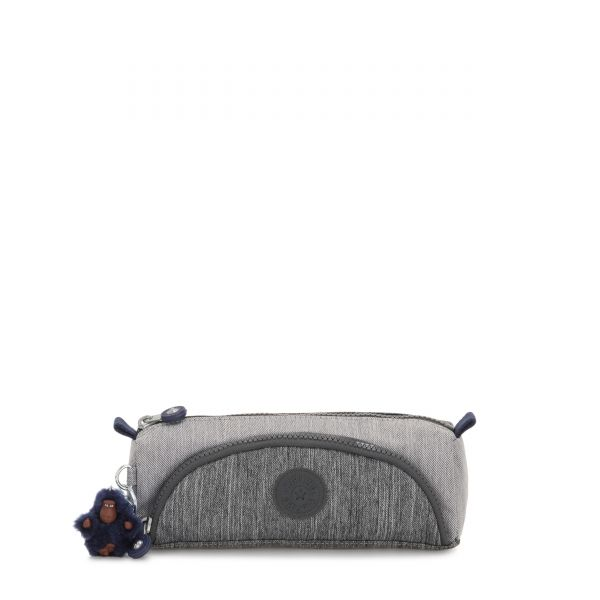 CUTE Ash Denim Bl POUCHES/CASES by Kipling Front
