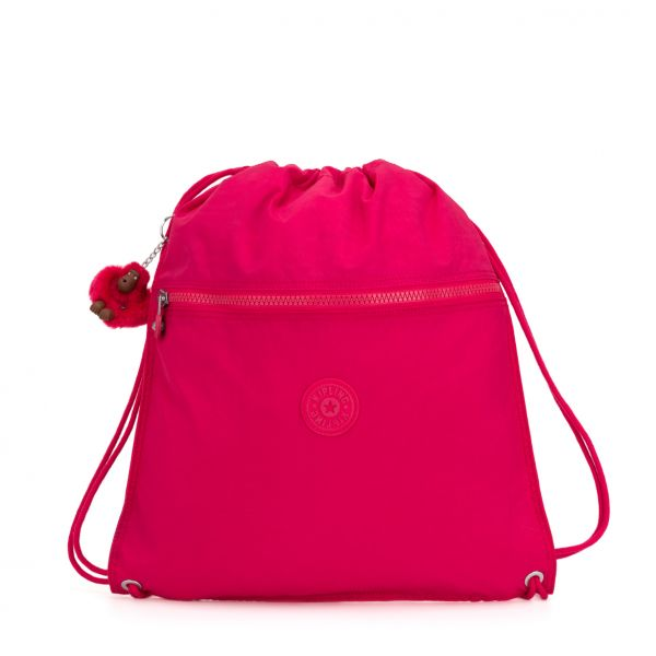 SUPERTABOO ESSENTIAL True Pink BACKPACKS by Kipling Front