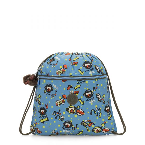 SUPERTABOO Monkey Rock BACKPACKS by Kipling Front