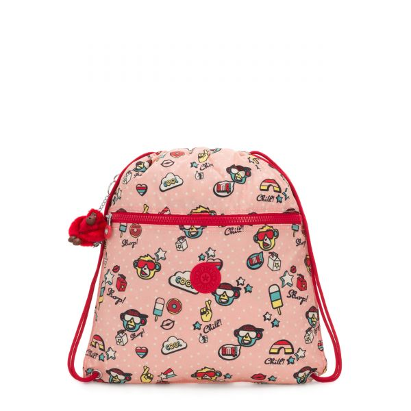 SUPERTABOO Monkey Play BACKPACKS by Kipling Front