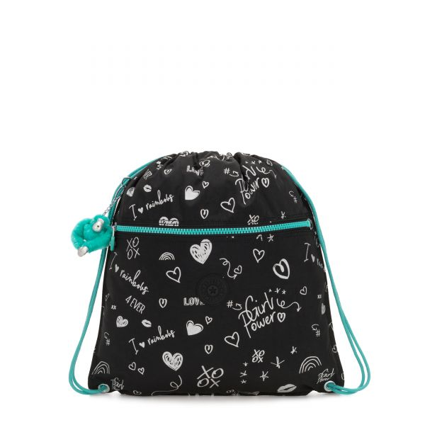 SUPERTABOO Girl Doodle BACKPACKS by Kipling Front
