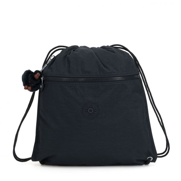 SUPERTABOO True Navy BACKPACKS by Kipling Front