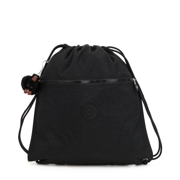 SUPERTABOO True Black BACKPACKS by Kipling Front