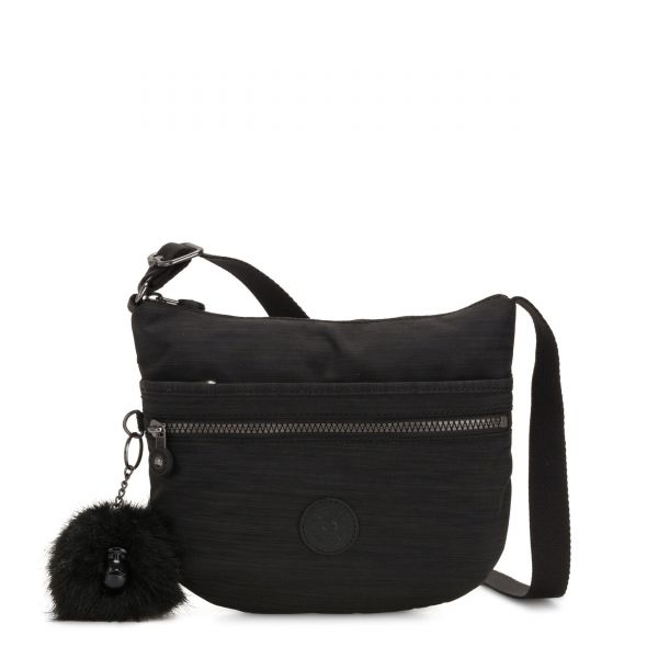 ARTO S True Dazz Black CROSSBODY by Kipling Front