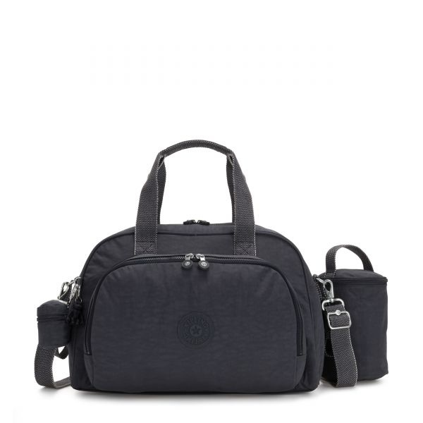 CAMAMA Night Grey BABY BAGS by Kipling Front