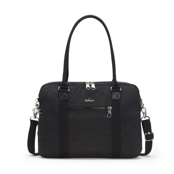 NEAT Dazz Black COMPUTER BAGS by Kipling Front