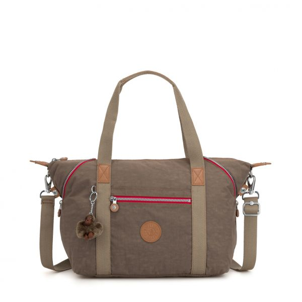 ART ESSENTIAL True Beige C TOTE by Kipling Front