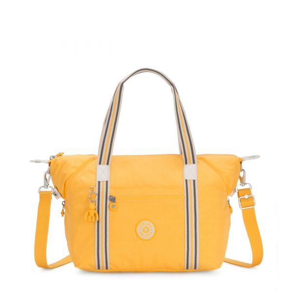 ART Vivid Yellow TOTE by Kipling Front