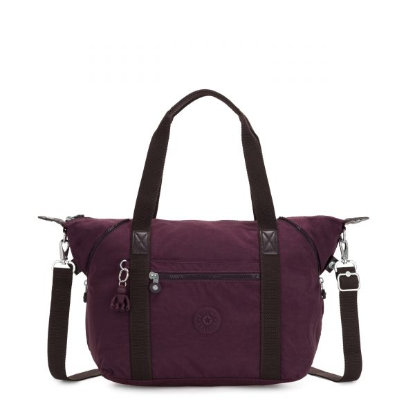 ART Dark Plum TOTE by Kipling Front