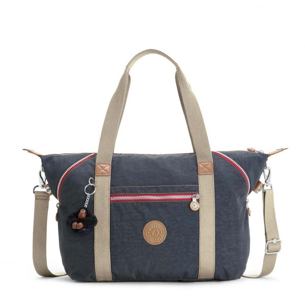 ART ESSENTIAL True Navy C TOTE by Kipling Front
