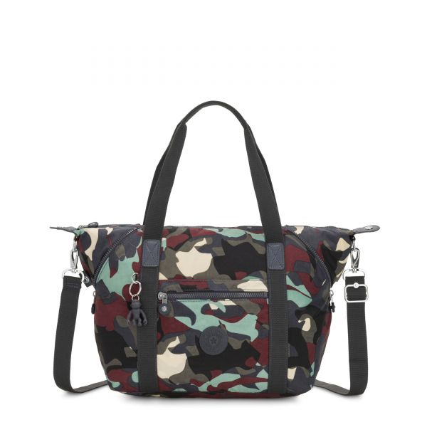 ART Camo Large TOTE by Kipling Front