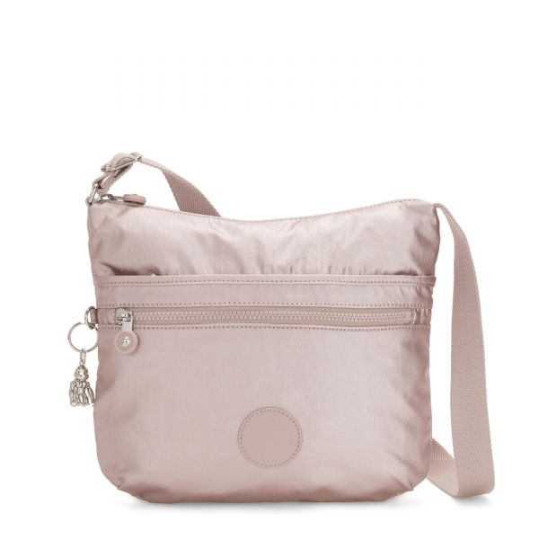 ARTO Metallic Rose CROSSBODY by Kipling Front