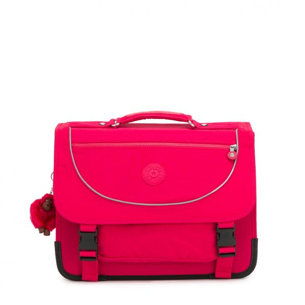 PREPPY True Pink BACKPACKS by Kipling Front