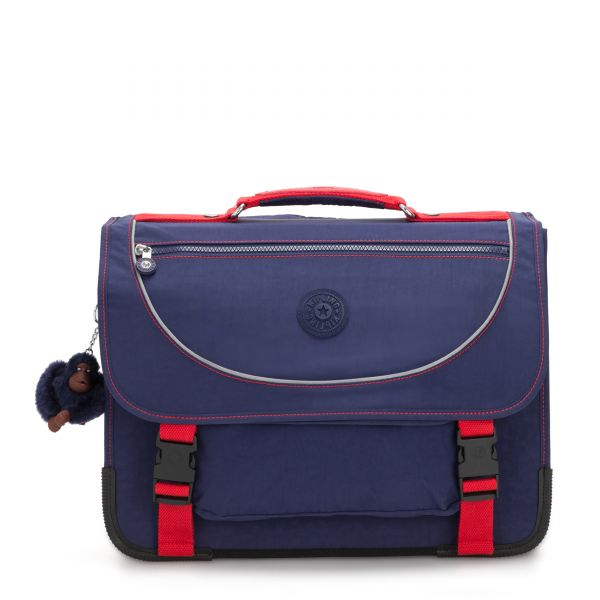 PREPPY Polished Blue C BACKPACKS by Kipling Front