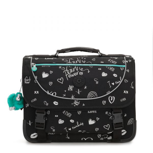PREPPY Girl Doodle BACKPACKS by Kipling Front