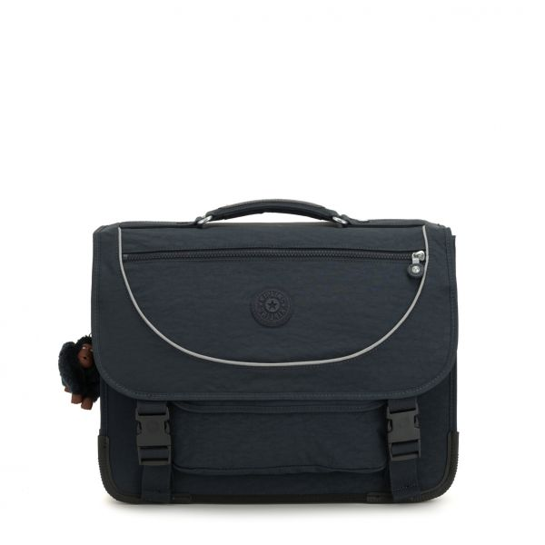 PREPPY ESSENTIAL True Navy BACKPACKS by Kipling Front