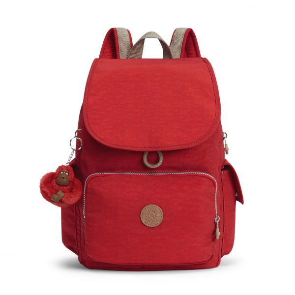 CITY PACK ESSENTIAL True Red C BACKPACKS by Kipling Front