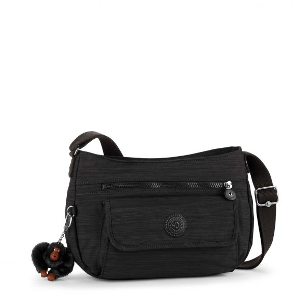 SYRO Dazz Black SHOULDERBAGS by Kipling Front