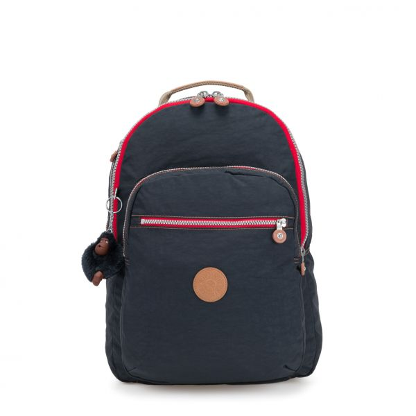 CLAS SEOUL ESSENTIAL True Navy C BACKPACKS by Kipling Front
